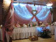 Продам ткани и цветочные композиции для оформления залов