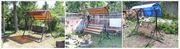 Садовые разборные качели от производителя в Сморгоне
